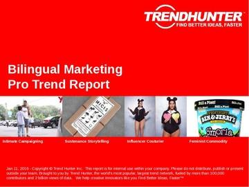 Bilingual Marketing Trend Report and Bilingual Marketing Market Research