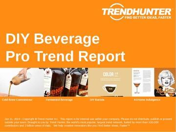 DIY Beverage Trend Report and DIY Beverage Market Research
