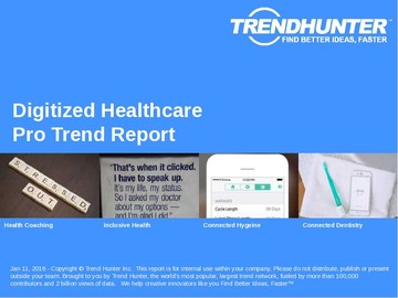 Digitized Healthcare Trend Report and Digitized Healthcare Market Research