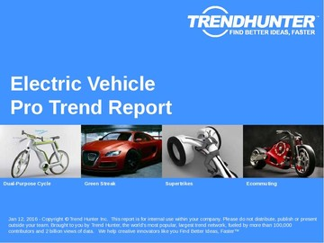 Electric Vehicle Trend Report and Electric Vehicle Market Research