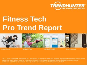 Fitness Tech Trend Report and Fitness Tech Market Research