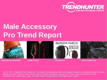 Male Accessory Trend Report and Male Accessory Market Research
