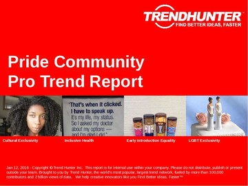 Pride Community Trend Report and Pride Community Market Research