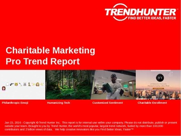 Charitable Marketing Trend Report and Charitable Marketing Market Research