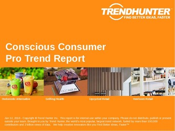 Conscious Consumer Trend Report and Conscious Consumer Market Research