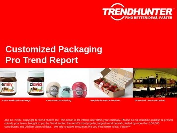 Customized Packaging Trend Report and Customized Packaging Market Research