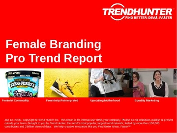 Female Branding Trend Report and Female Branding Market Research