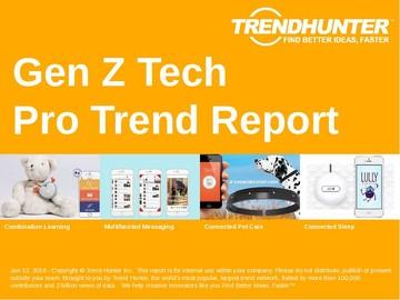 Gen Z Tech Trend Report and Gen Z Tech Market Research