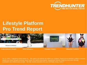 Lifestyle Platform Trend Report and Lifestyle Platform Market Research