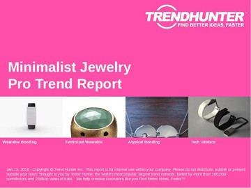 Minimalist Jewelry Trend Report and Minimalist Jewelry Market Research