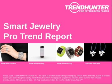 Smart Jewelry Trend Report and Smart Jewelry Market Research