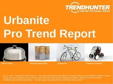 Urbanite Trend Report and Urbanite Market Research