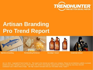 Artisan Branding Trend Report and Artisan Branding Market Research