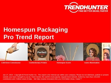 Homespun Packaging Trend Report and Homespun Packaging Market Research