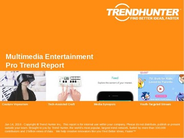 Multimedia Entertainment Trend Report and Multimedia Entertainment Market Research