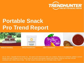 Portable Snack Trend Report and Portable Snack Market Research