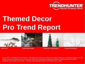 Themed Decor Trend Report and Themed Decor Market Research