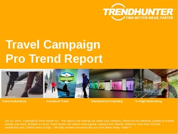 Travel Campaign Trend Report and Travel Campaign Market Research