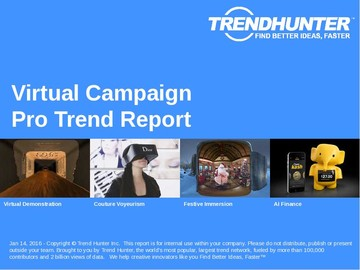 Virtual Campaign Trend Report and Virtual Campaign Market Research