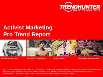 Activist Marketing Trend Report and Activist Marketing Market Research