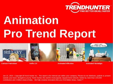Animation Trend Report and Animation Market Research