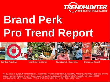 Brand Perk Trend Report and Brand Perk Market Research