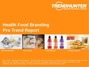 Health Food Branding Trend Report and Health Food Branding Market Research