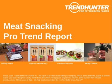 Meat Snacking Trend Report and Meat Snacking Market Research