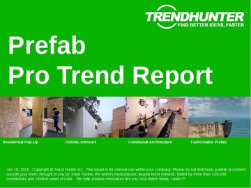 Prefab Trend Report and Prefab Market Research