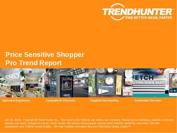 Price Sensitive Shopper Trend Report and Price Sensitive Shopper Market Research