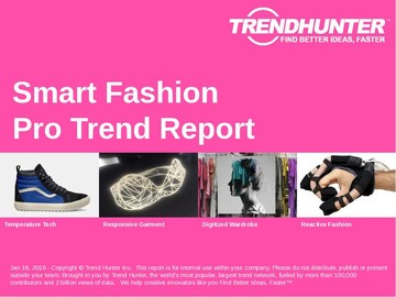 Smart Fashion Trend Report and Smart Fashion Market Research