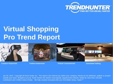 Virtual Shopping Trend Report and Virtual Shopping Market Research