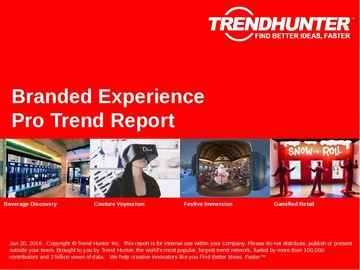 Branded Experience Trend Report and Branded Experience Market Research