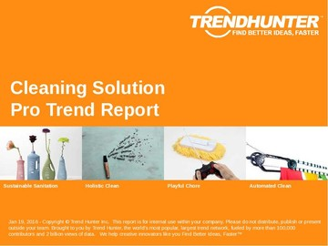 Cleaning Solution Trend Report and Cleaning Solution Market Research