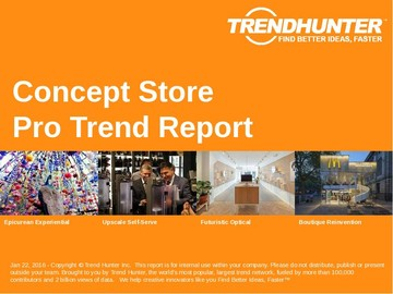 Concept Store Trend Report and Concept Store Market Research