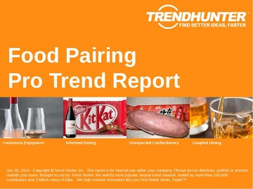 Food Pairing Trend Report and Food Pairing Market Research