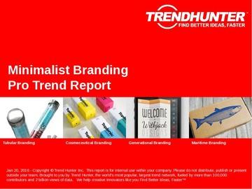 Minimalist Branding Trend Report and Minimalist Branding Market Research