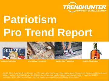 Patriotism Trend Report and Patriotism Market Research