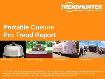 Portable Cuisine Trend Report and Portable Cuisine Market Research