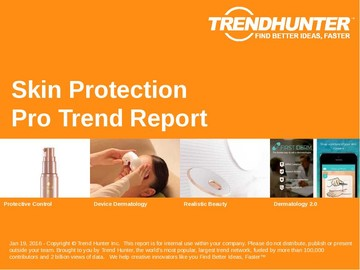 Skin Protection Trend Report and Skin Protection Market Research