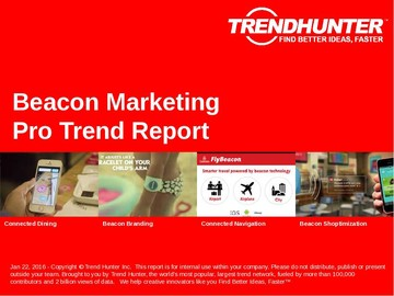 Beacon Marketing Trend Report and Beacon Marketing Market Research