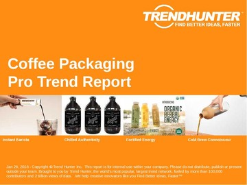 Coffee Packaging Trend Report and Coffee Packaging Market Research
