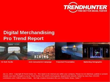 Digital Merchandising Trend Report and Digital Merchandising Market Research