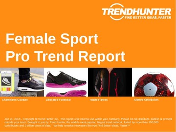 Female Sport Trend Report and Female Sport Market Research