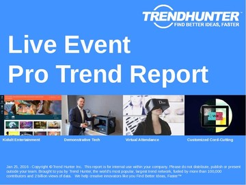 Live Event Trend Report and Live Event Market Research