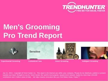 Men's Grooming Trend Report and Men's Grooming Market Research