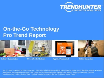On-the-Go Technology Trend Report and On-the-Go Technology Market Research