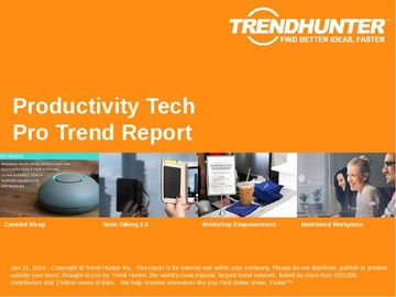 Productivity Tech Trend Report and Productivity Tech Market Research