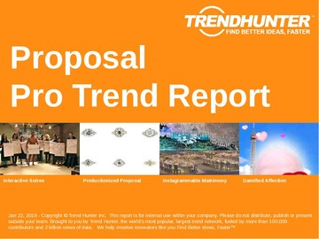 Proposal Trend Report and Proposal Market Research