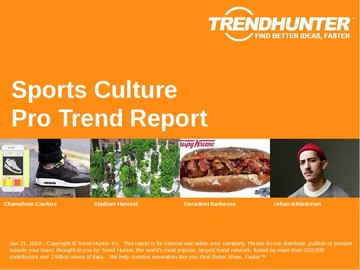 Sports Culture Trend Report and Sports Culture Market Research